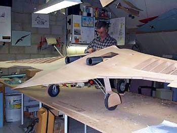 Реактивная авиамодель своими руками 16